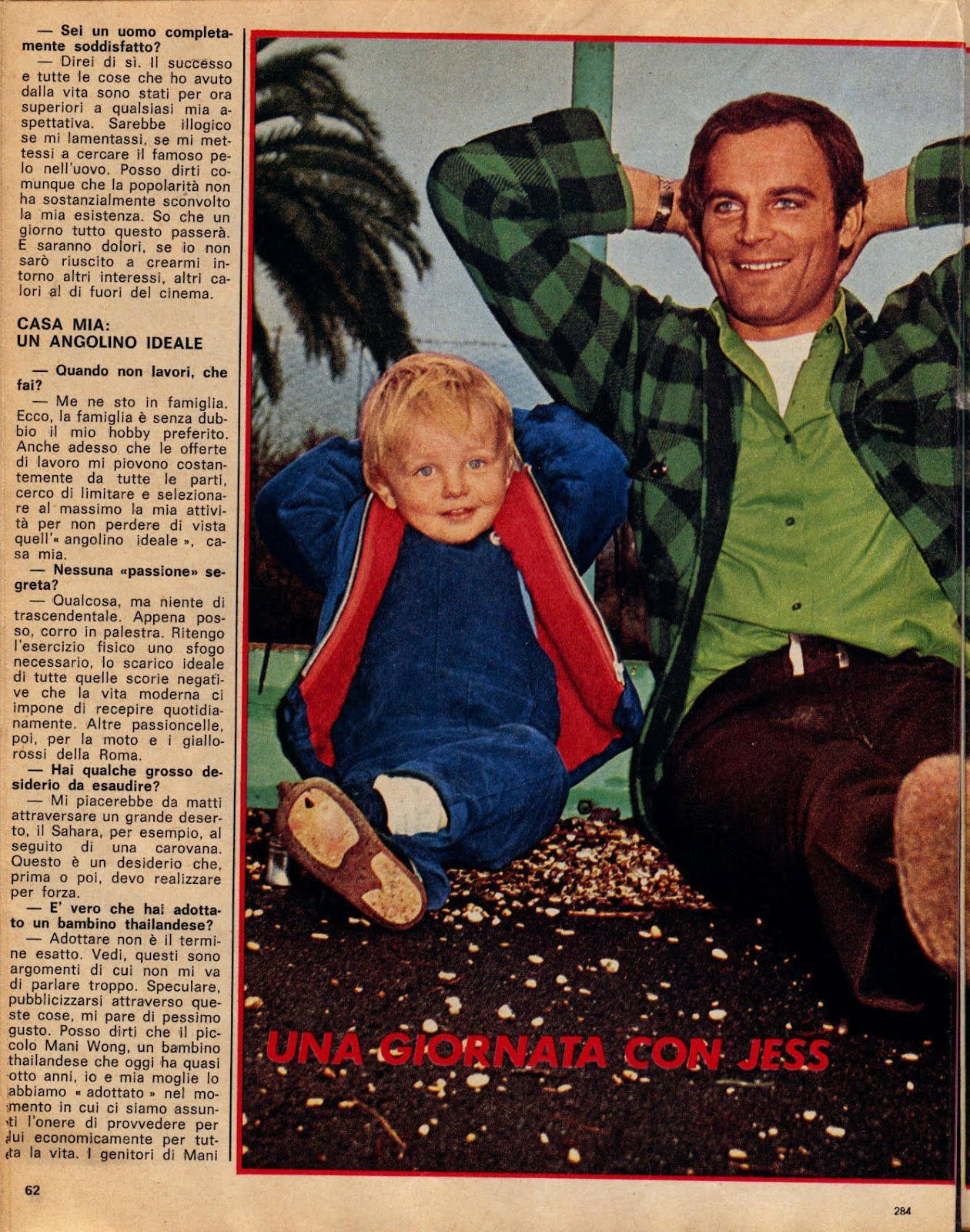 Terence Hill And His Son Jess Una Giornata Con Jess Terence Hill Mario Bud Spencer