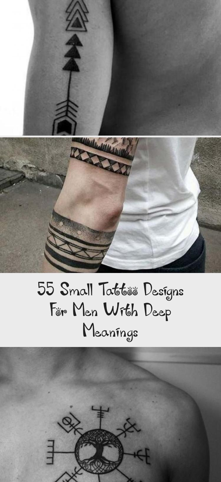 55 Small Tattoo Designs For Men With Deep Meanings in 2020