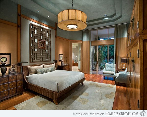 15 Asian Themed Masters Bedroom Home Design Lover Asian Inspired Bedroom Asian Style Bedrooms Japanese Interior Design