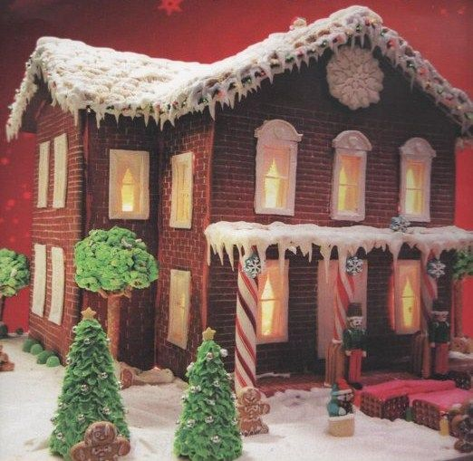 Gingerbread house Made by JoAnne McKinsey