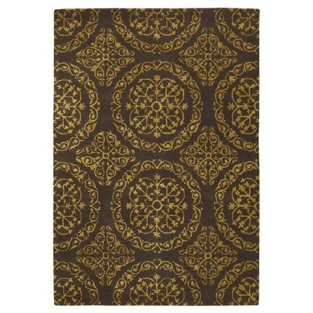 I pinned this Satara Rug in Yellow from the Chandra event at Joss and Main!