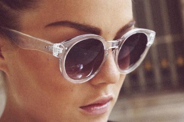 2a40ac1232507 Tendências em óculos de sol verão 2019   Óculos   Transparente, Sol ...
