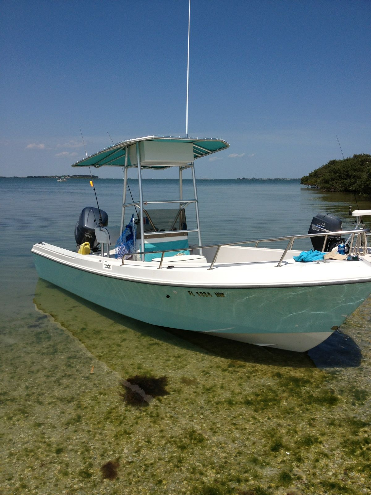 Mako 19 Blue Paint Color Image Google Search Boat