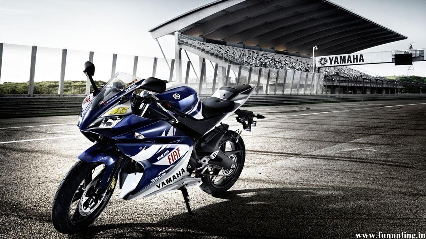Hd wallpaper yamaha r15 - Yamaha R1 Sports Bike Hd Wallpaper
