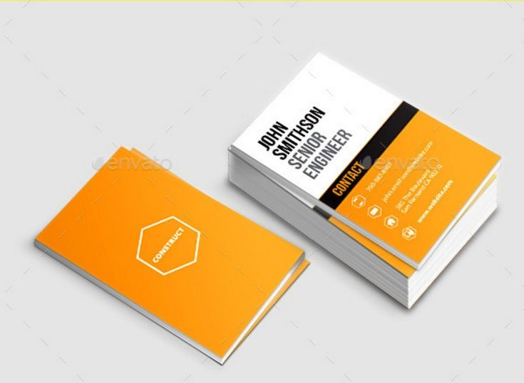 25 Construction Business Card Template Psd And Indesign Format Construction Business Cards Business Card Template Psd Business Card Template