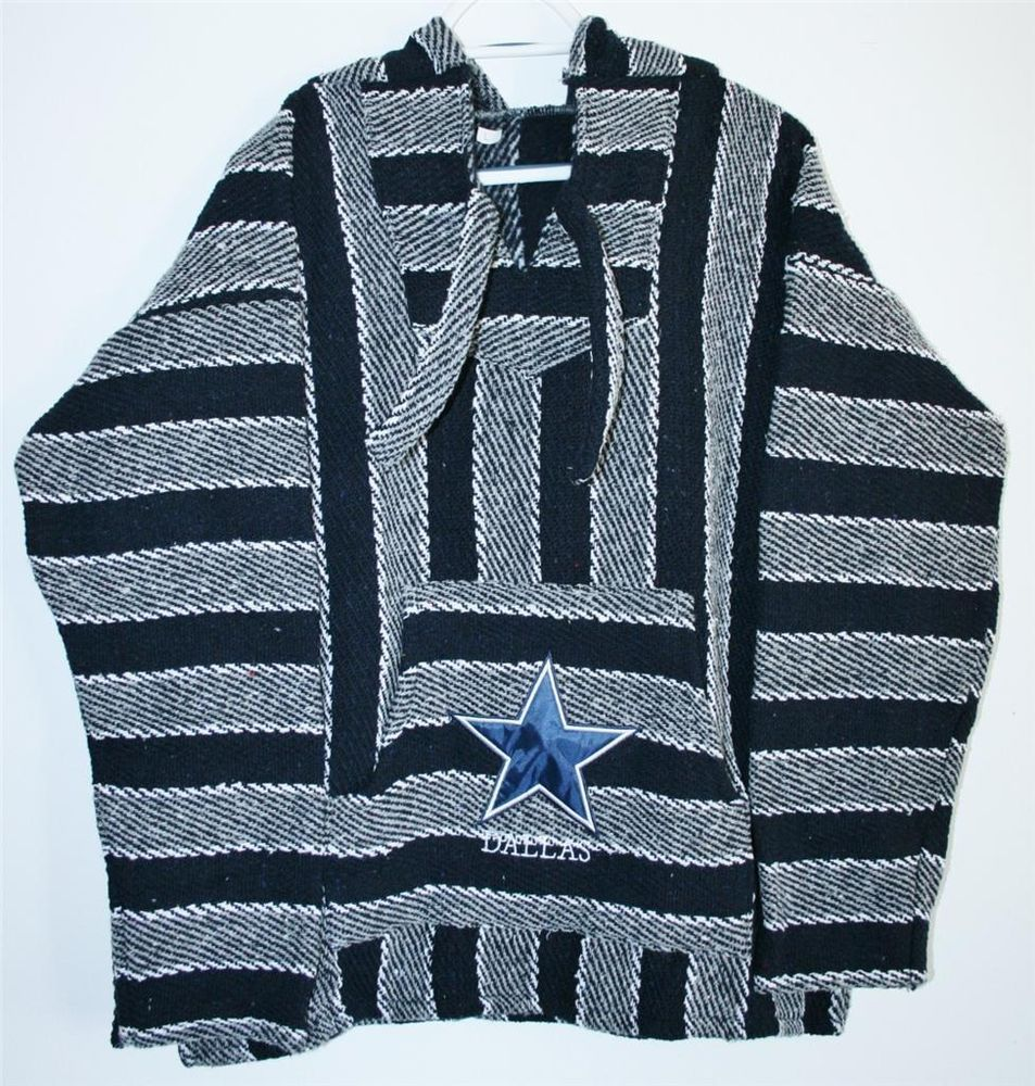 dallas cowboys football nfl hoodie size large or x large handmade