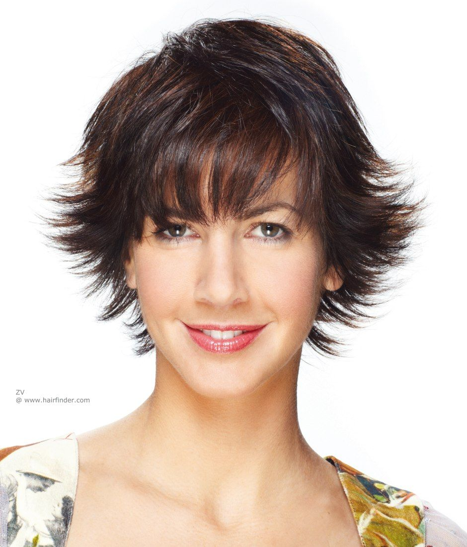 short hair cut with volume on the crown   haircuts in 2019