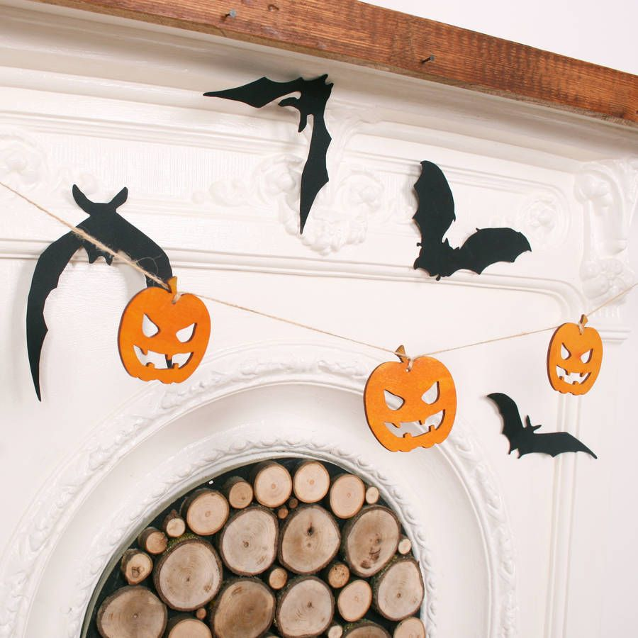 Halloween Pumpkin Bunting Scary halloween pumpkins, Scary - Kids Halloween Decorations