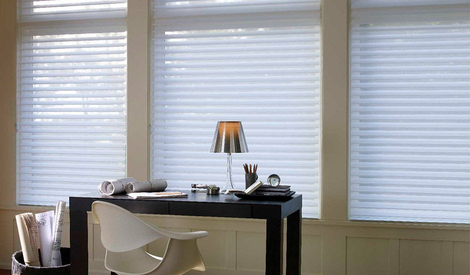 Sheer Shades For The Home Office Budgetblinds Homedecor Budget