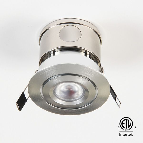 Gmr6 Series 120v 6w Ic And Damp Location Rated Mini Downlight Gm Lighting