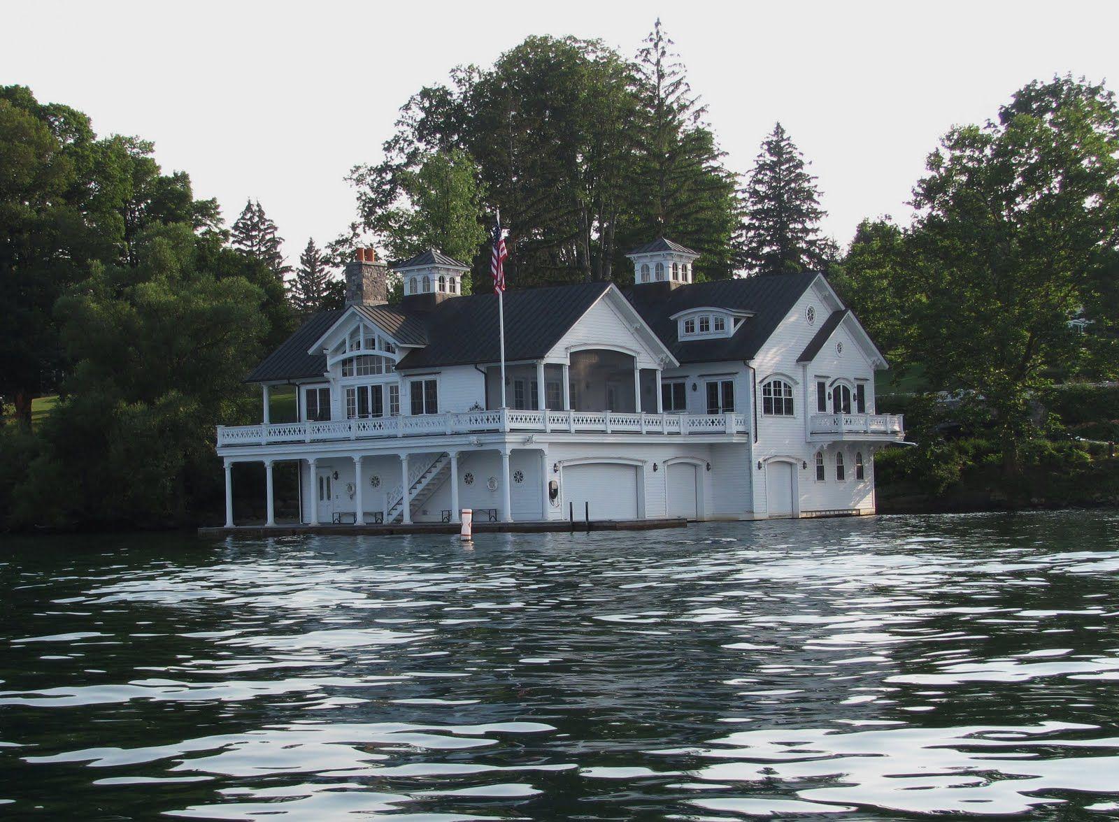 Boat House Skaneateles Lake