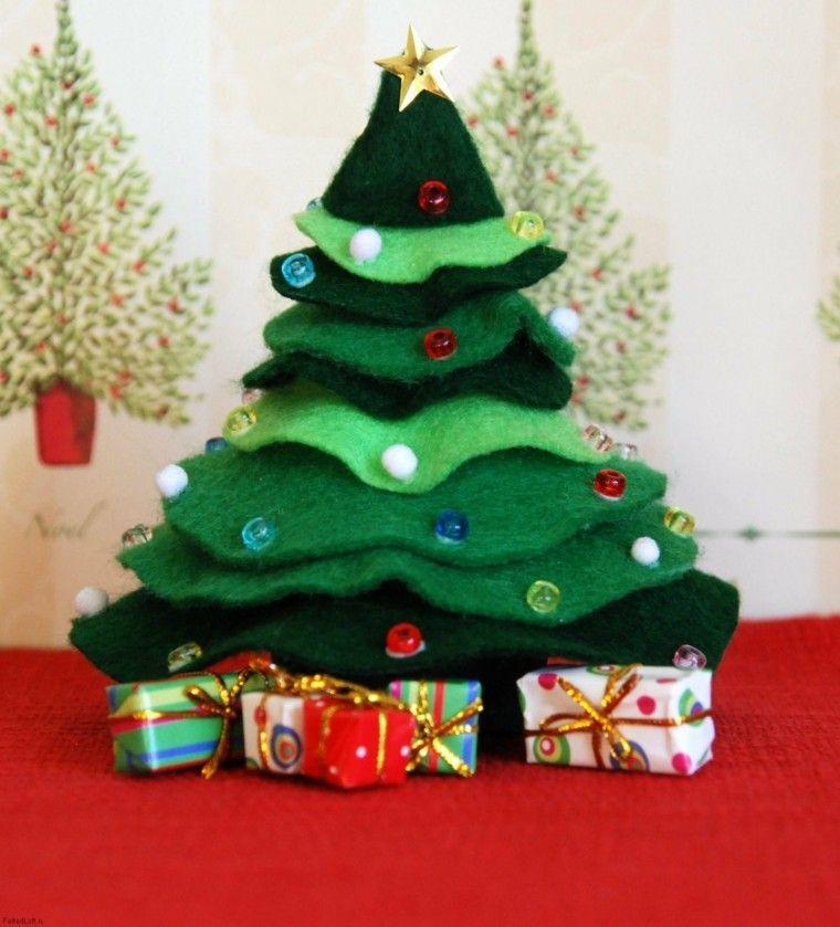 manualidades de navidad ideas arbol regalos invierno Navidad 2017