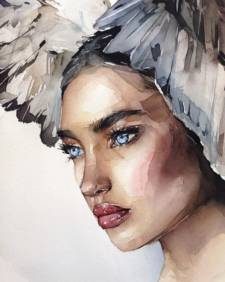 Watercolorist Juliabarminova Waterblog Akvarel Aquarelle