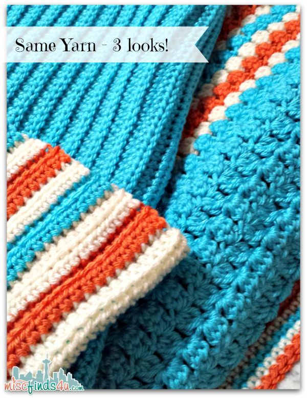 Color Combinations - Use Crochet Stitches to Change the Look ...