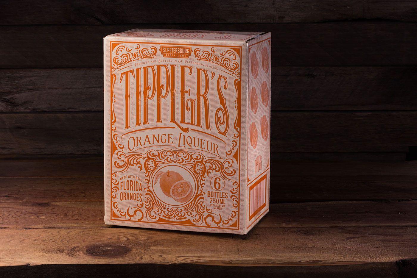 Tipplers Orange Liqueur #Carton
