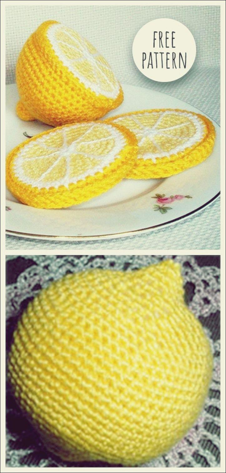 Häkeln Sie Zitrone Free Pattern #muñecosdeganchillo