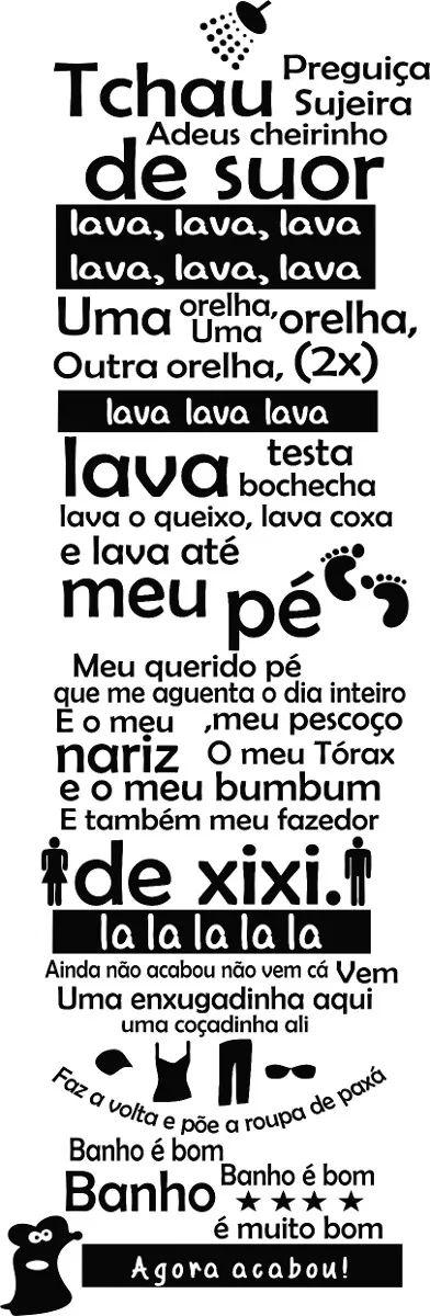 Adesivo Banheiro Porta Box Musica Ratinho Castelo Ratimbum