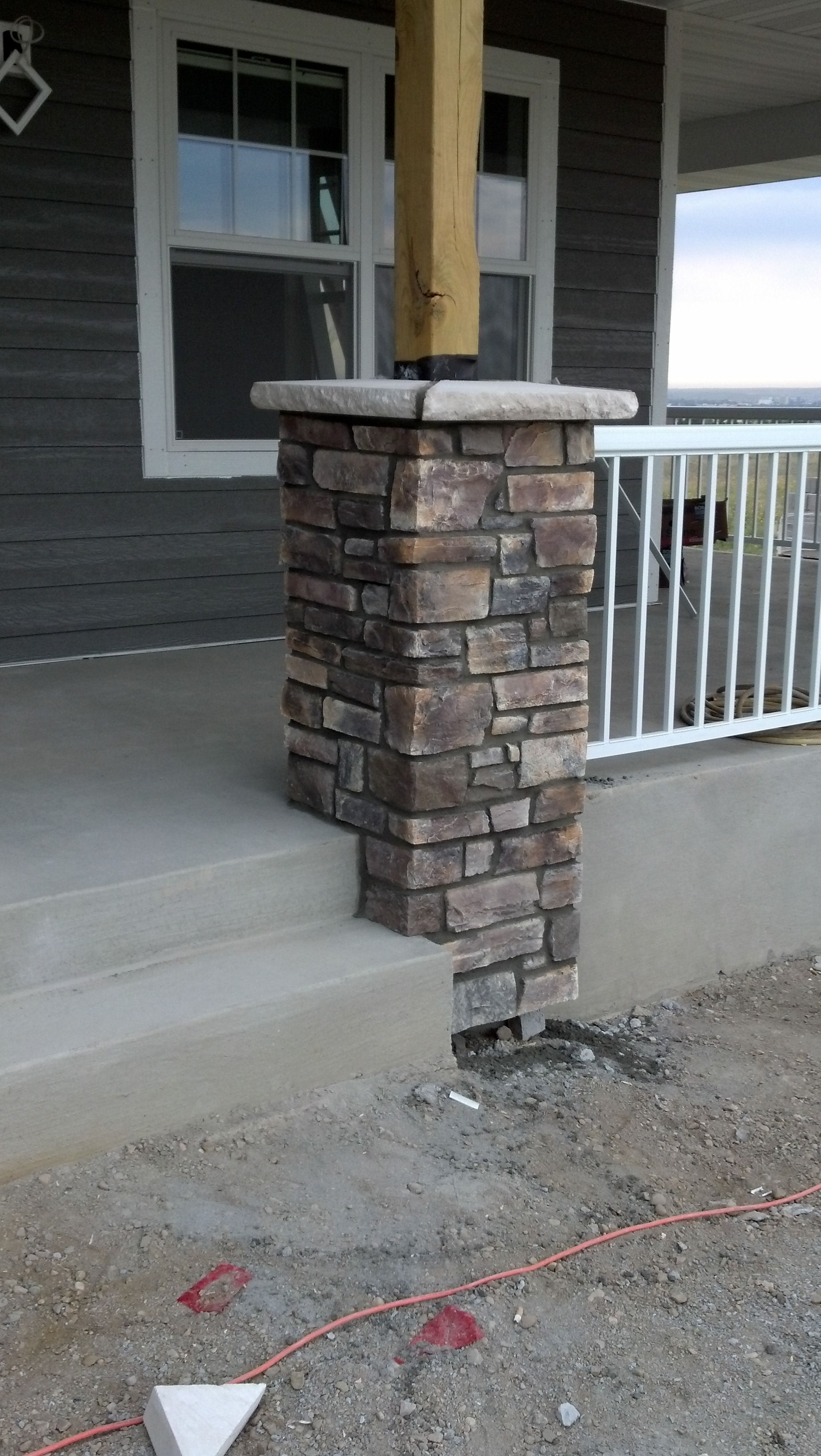 Country Ledgestone Wolf Creek Column 1 Houses In 2019