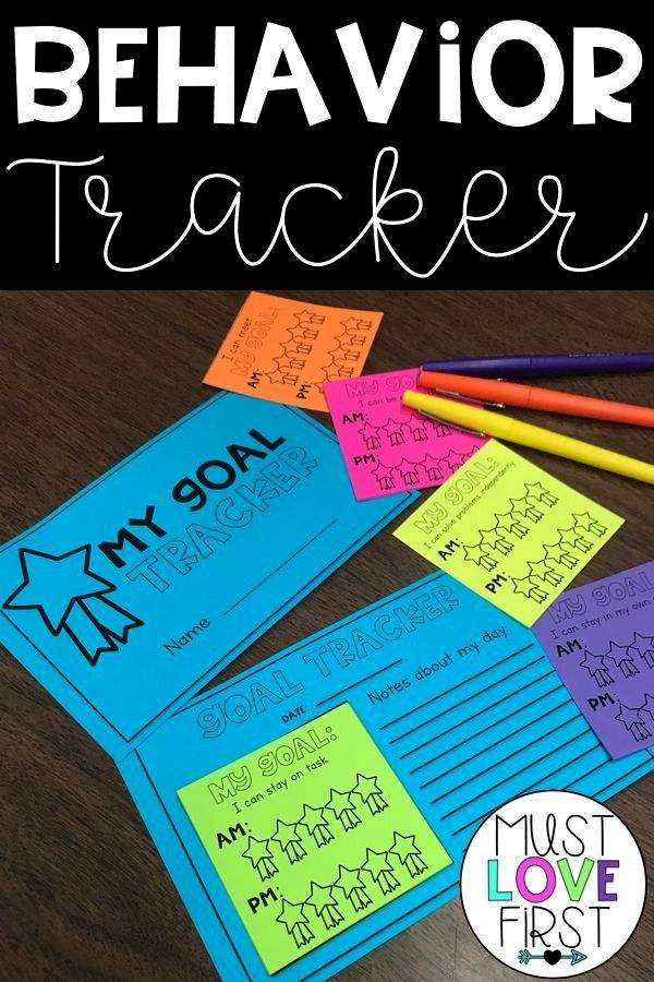 Chart Individual Sticky Notes Looking for a quick and easy behavior chart for individual students i