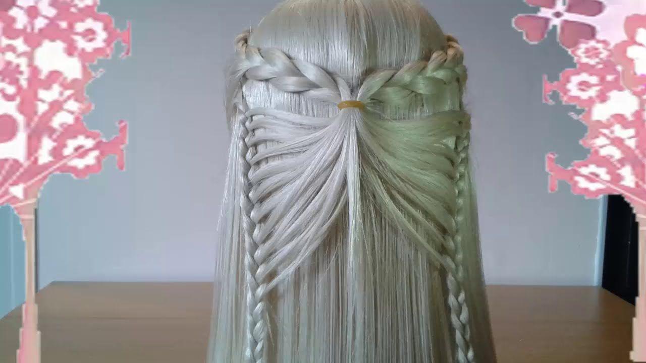 Peinados de mariposa y corazon 6 faciles para cabello - Peinados faciles y bonitos ...
