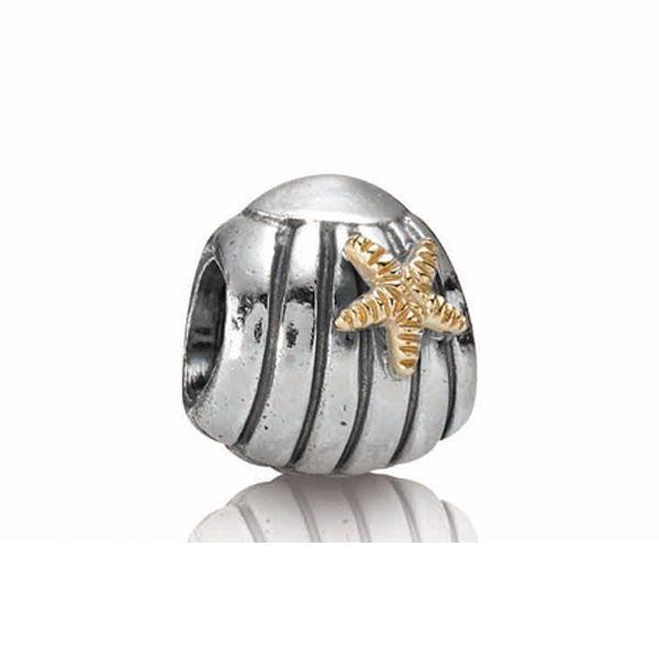 pandora clam shell charm