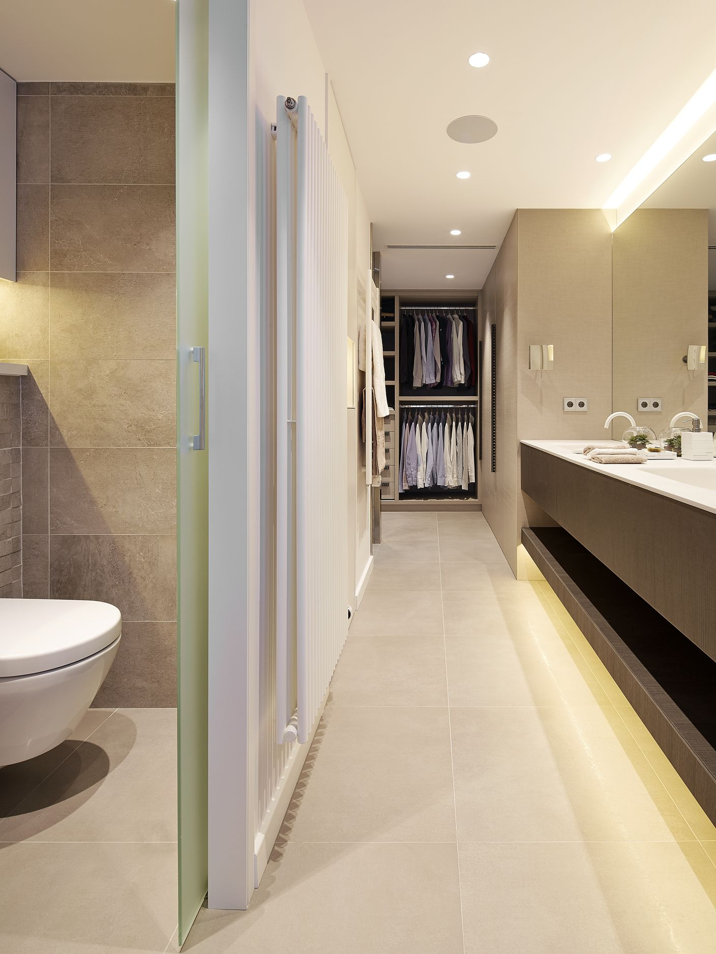 Molins interiors arquitectura interior interiorismo dormitorio principal suite ba o - Arquitectura interior ...