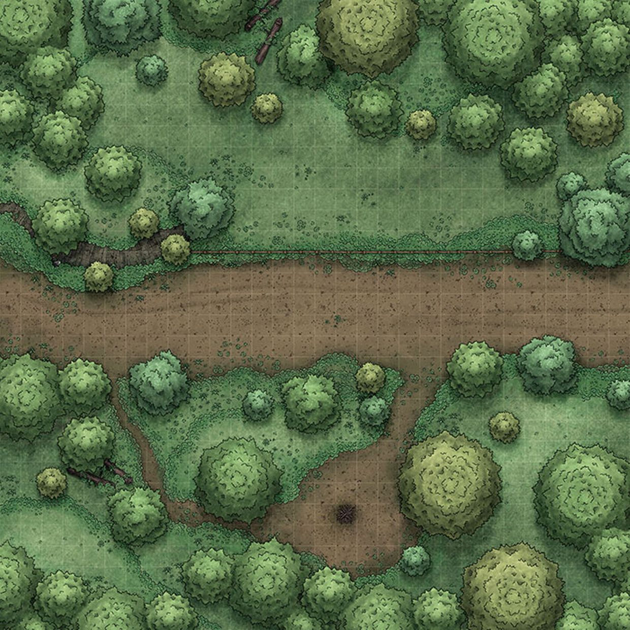 Afternoon Maps is creating RPG and DnD battlemaps in 2019
