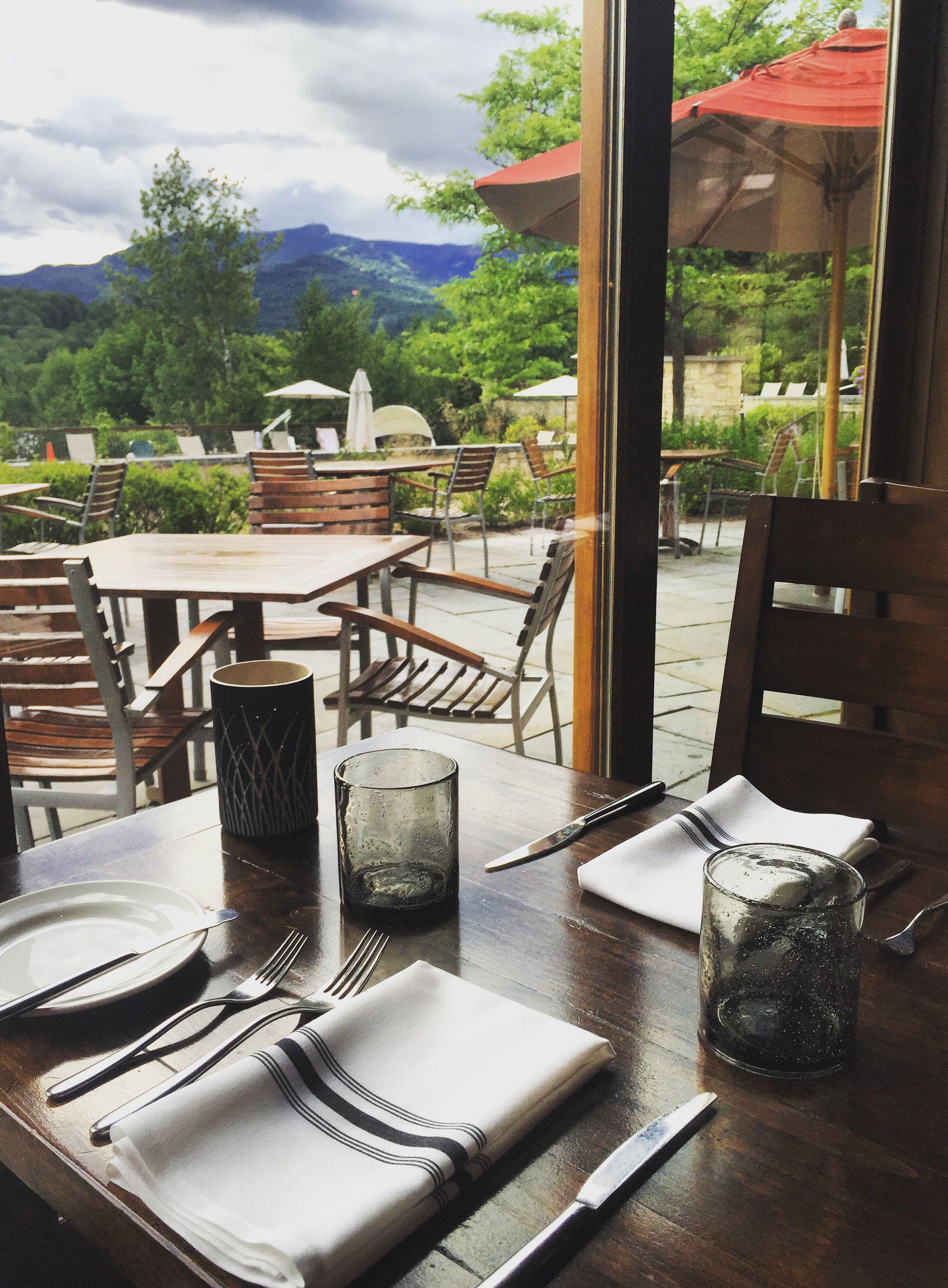 Flannel Restaurant At Topnotch Resort In Stowe Vermont Stowe