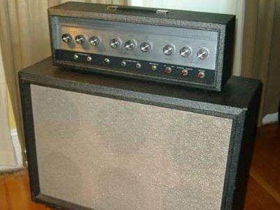 Vintage Sears Silvertone 1485 Tube Amp | Vintage ...