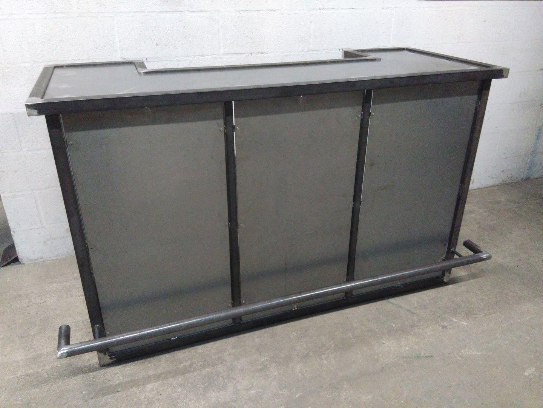 bar style industriel metal brut arny72 pinterest. Black Bedroom Furniture Sets. Home Design Ideas