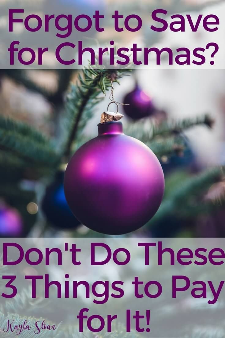 3 Things You Should NEVER do to Pay for Christmas | Christmas gifts ...