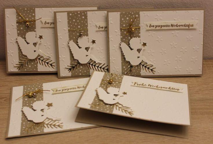 Engel-Weihnachtskarten -