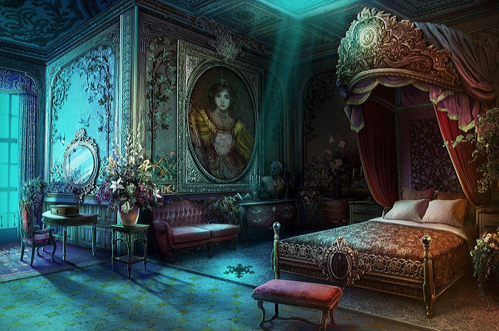 Fantasy bedroom image by Judy Evans on Children's Fantasy