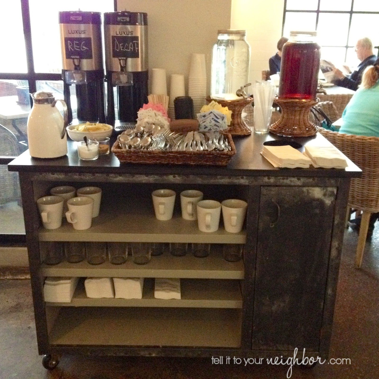 Coffee Cart At Home