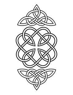Heart Patterns To Print   Google Search · Celtic MandalaCeltic ...