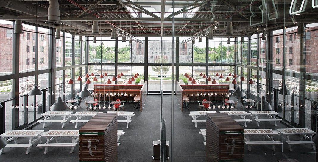 NIKE CANTEEN - UXUS Foodcourt Pinterest Canteen, Design - designer kantine spiegel magazin