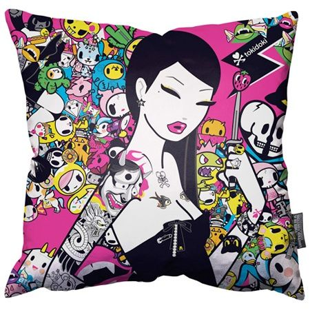 Singapore Pillow by Tokidoki Tokidoki 3 Pinterest