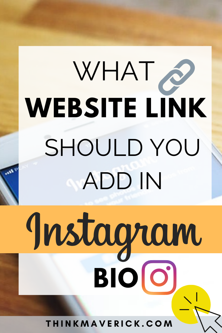 What Is A Link In Bio Tool Free Way To Drive Traffic From Instagram Thinkmaverick My Personal Journey Through Entrepreneurship Instagram Marketing Tips Instagram Marketing Strategy Instagram Bio