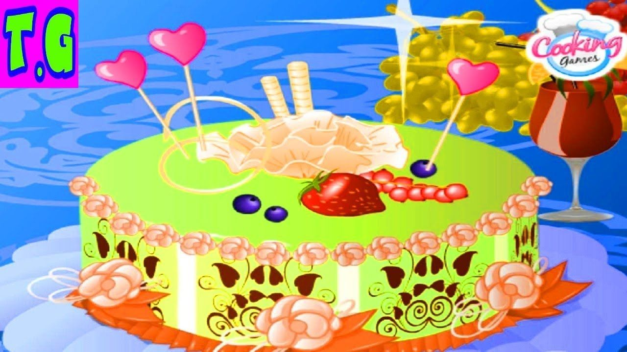 Marvelous Crazy Birthday Cake Fun Cooking Games For Kids 2018 Funny Birthday Cards Online Eattedamsfinfo