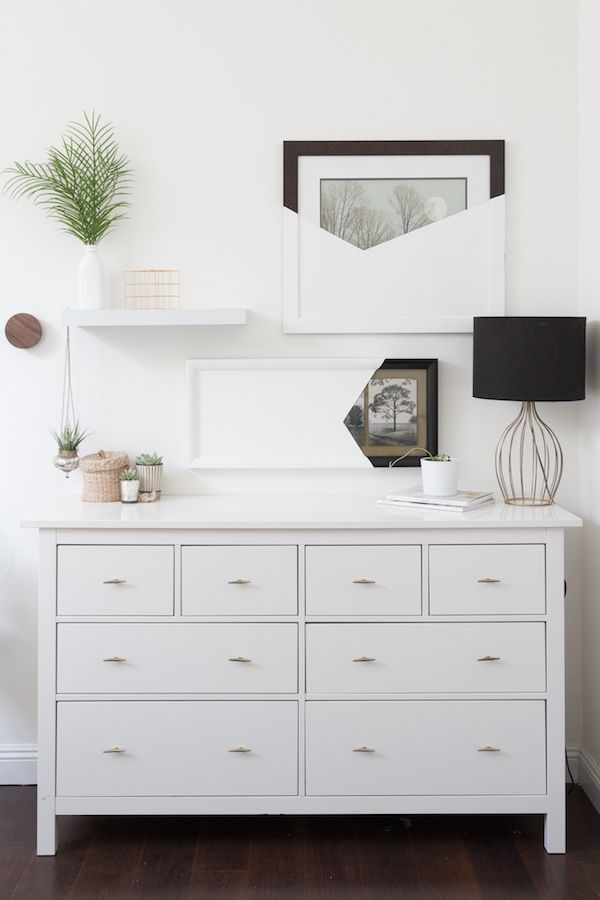Commode Blanche Inspiration Chambre A Coucher Mobilier Blanc Et