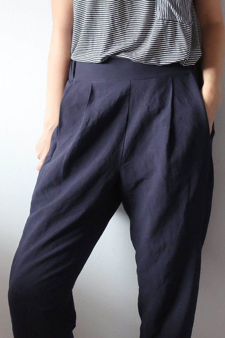 Diy Pleated Pants Review Of The Calyer Pants Pattern By French