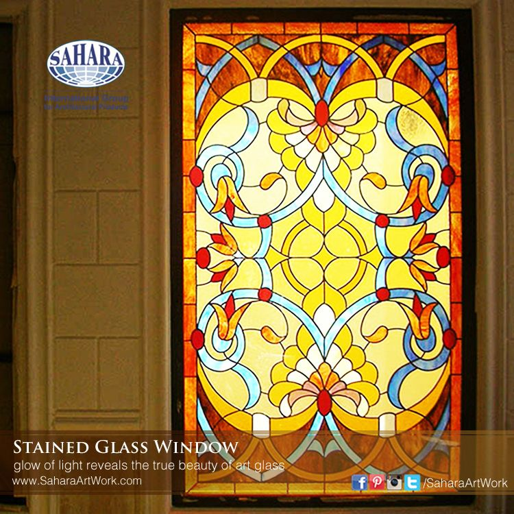 Stained Glass Window Insert A Very, Window Color Glass Design