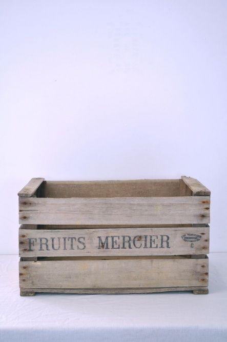 Mercier Fruit Crates   The Hambledon