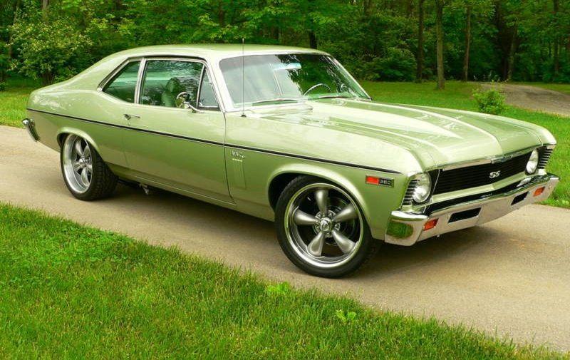 1969 Nova Ss This Color Is Awesome Chevrolet Nova
