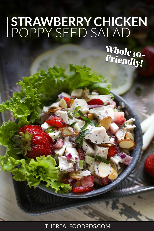 Strawberry Chicken Poppy Seed Salad Recipe Whole 30