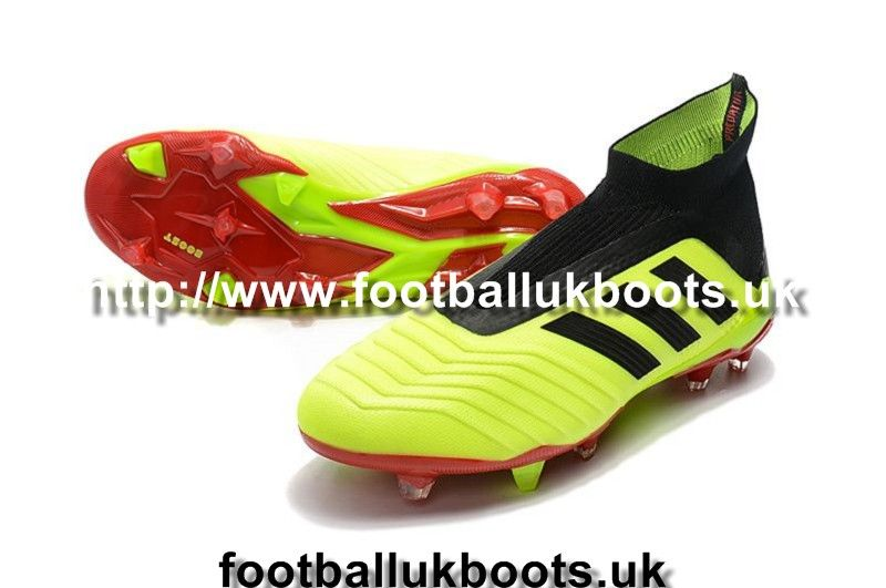 0c27c39ee Design Football Boots Adidas Predator 18+ FG - Yellow/Black/Red visit us