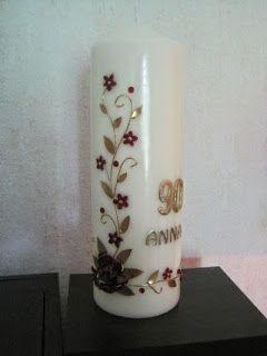 Kerze zum 90 geburtstag kerzen candles pinterest kerzen geburtstag kerzen und kerzen - Ideen zum 90 geburtstag ...