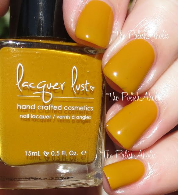 The PolishAholic: Lacquer Lust Swatches & Review