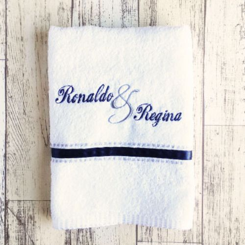 Toalha de Rosto Para Casal (Produto Personalizado)
