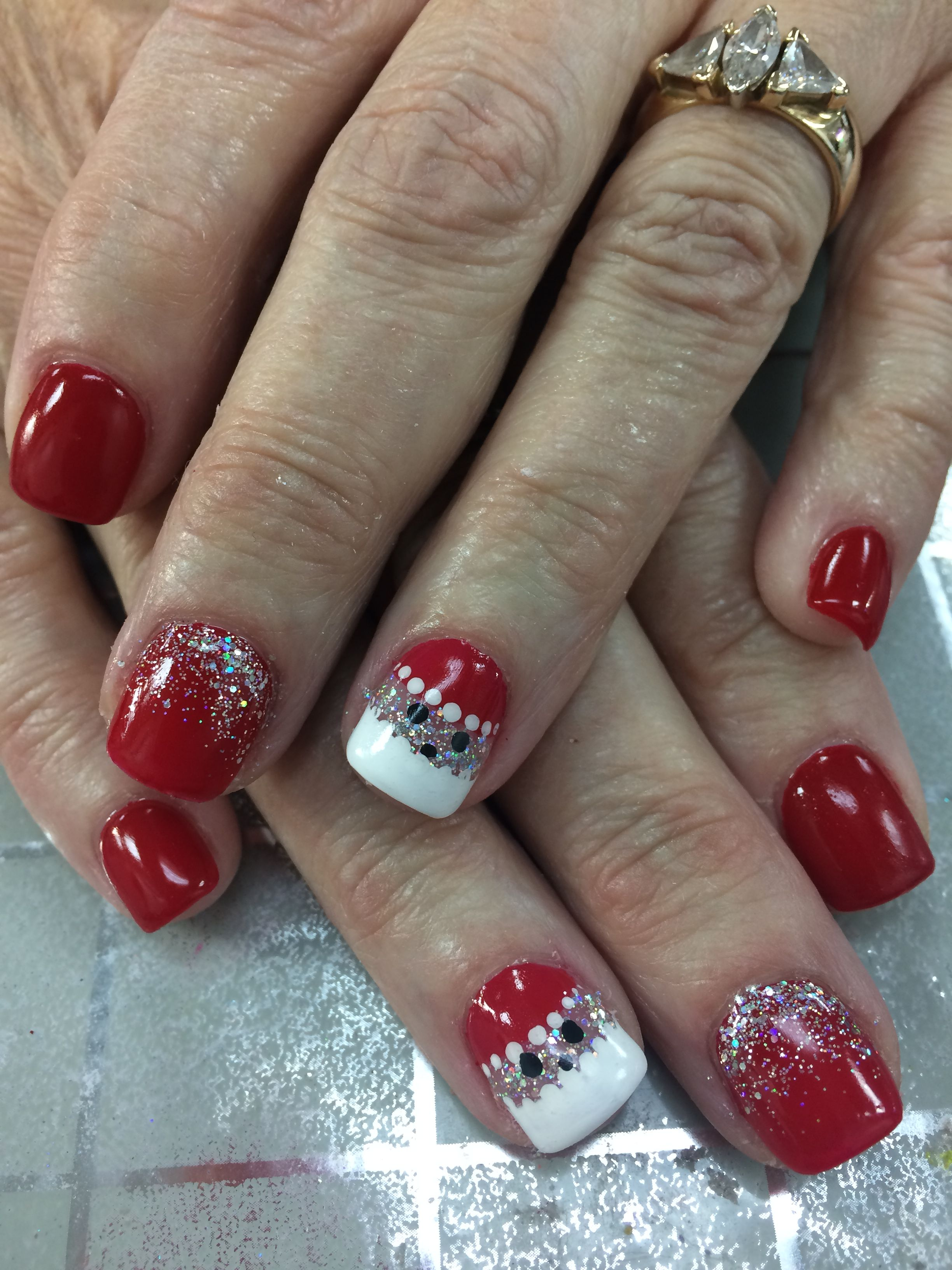 Christmas Nails Design Nails By Leaphea Pinterest Fun Nails